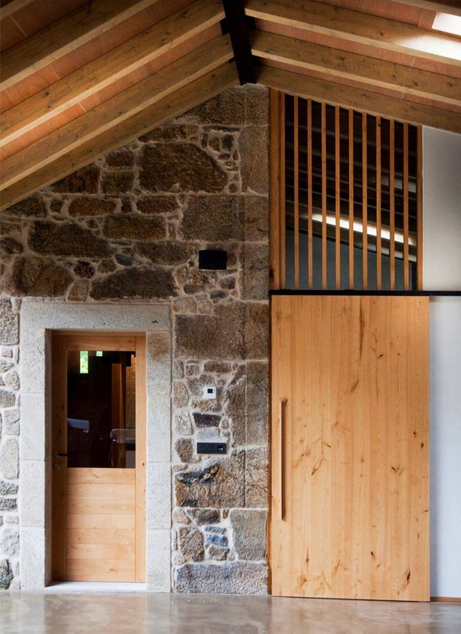 cocina reforma escaleras casa cristalera4
