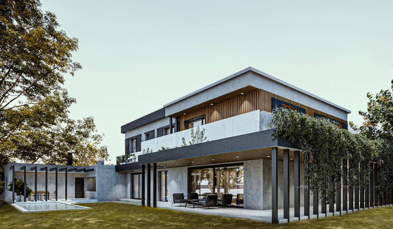 vivienda unifamiliar diseño exterior interior1